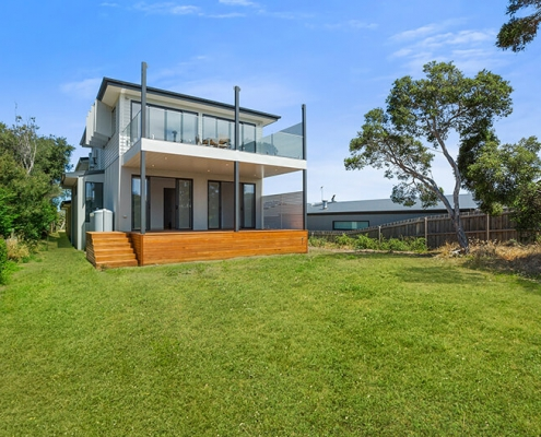 Rye new built house